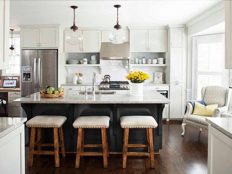 Cocinas modernas con isla: 100 ideas impresionantes | Kitchens