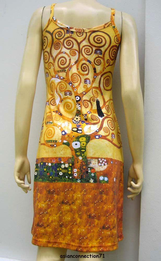 Klimt- inspired dress
