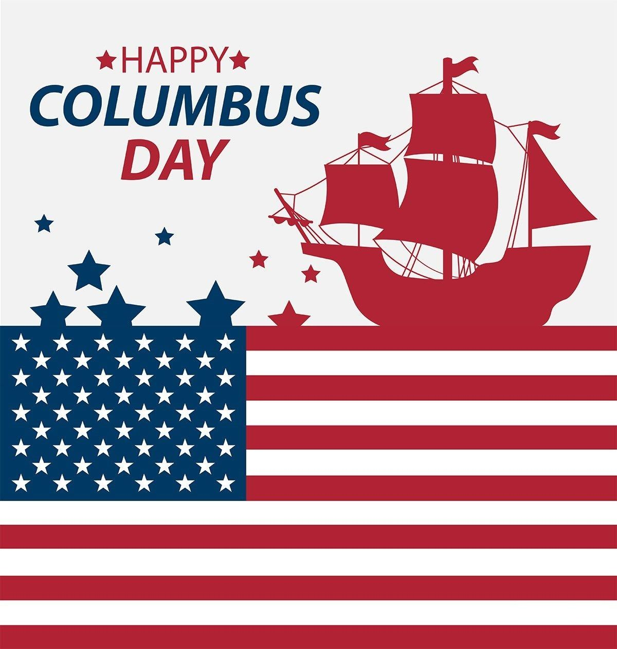 Happy Columbus Day Cards Happy Columbus Day Columbus Day American Quotes