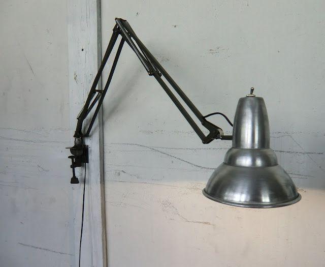 WO AND WÉ COLLECTION: Applique murale lampe d'architecte vintage Luxo
