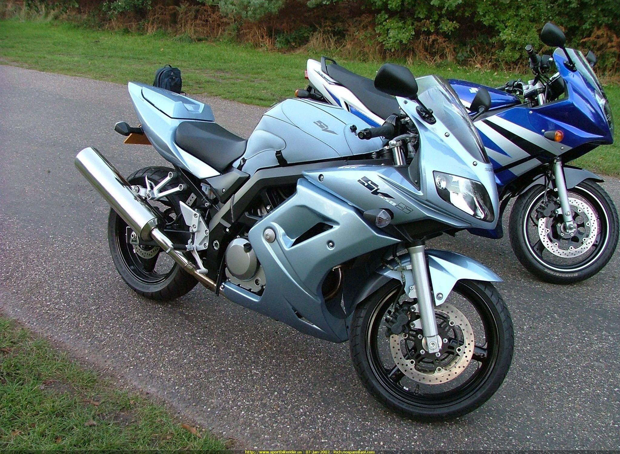 2006 Suzuki SV650s. love the winter chill color. | Awesome | Pinterest