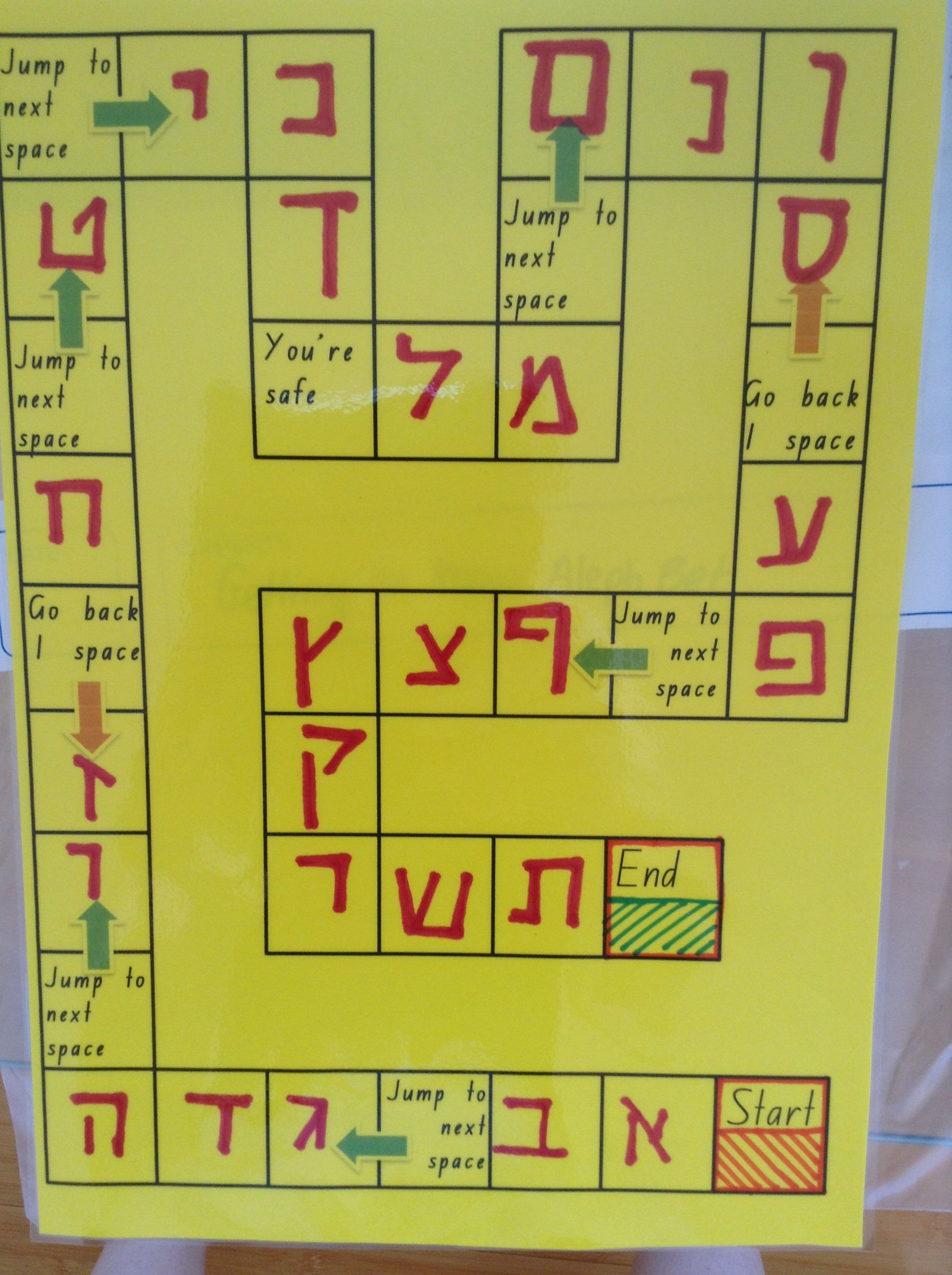 Developing Letter Recognition Board Game