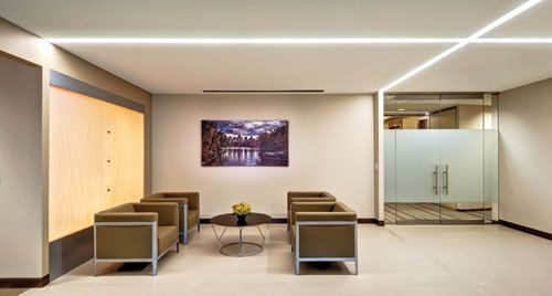 Replacing the Fluorescent Lamp with Linear LED Luminaires