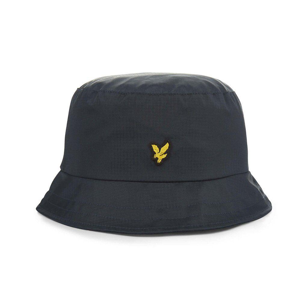 508b670986 Lyle & Scott Nylon Ripstop Bucket Hat - Dark Navy | Lyle & Scott ...
