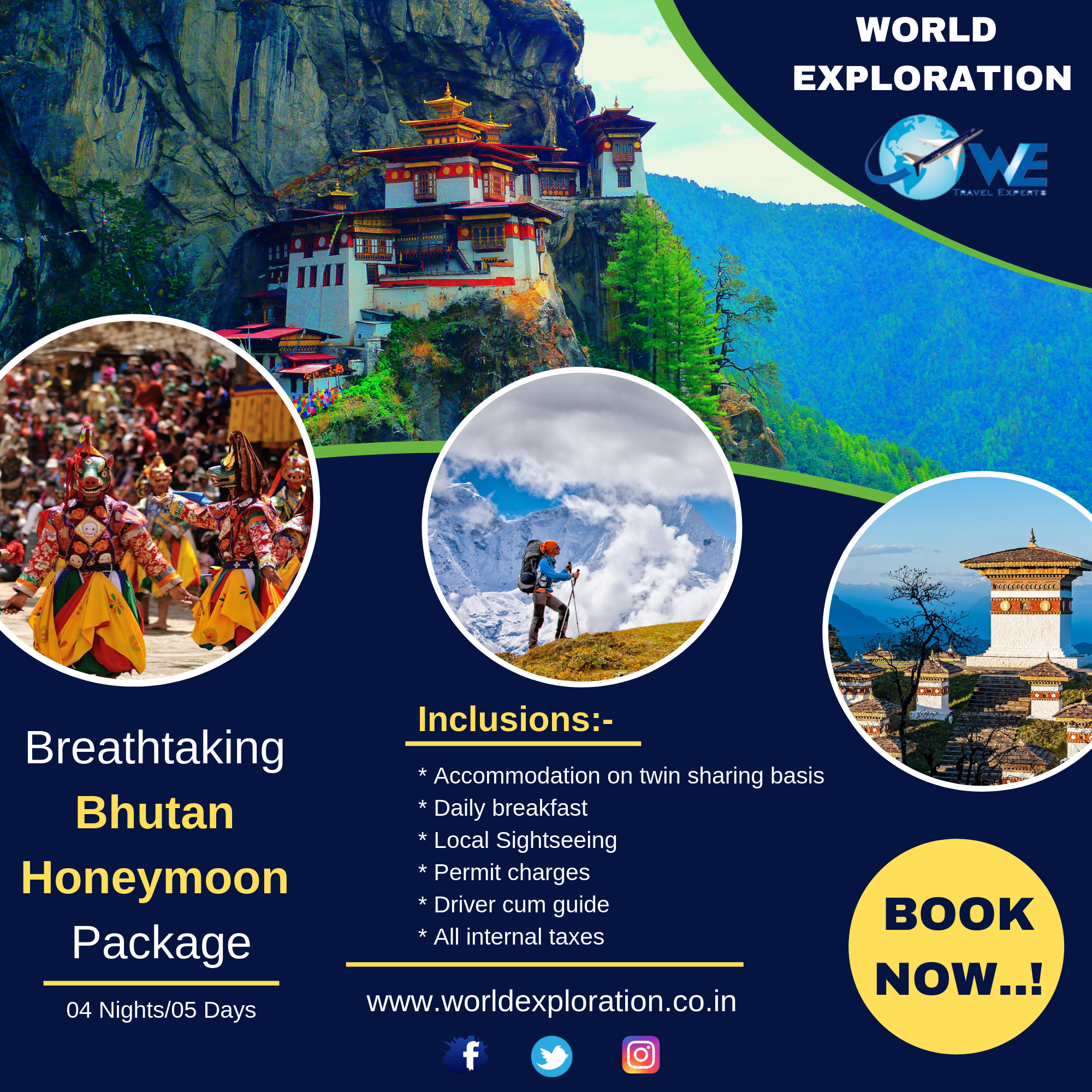 Bhutan is also one of the most romantic places to visit