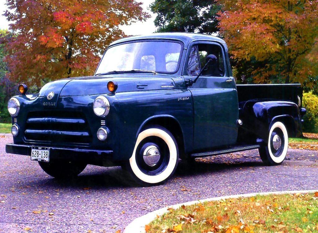 1954 dodge c-series pickup truck. I\'ll take it in bright blue ...