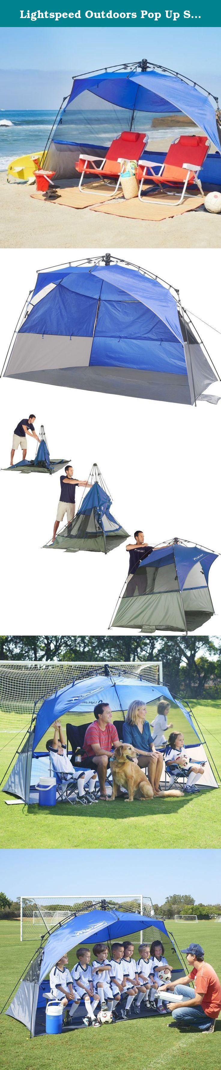 Lightspeed Outdoors Pop Up Sport Shelter Beach Tent The