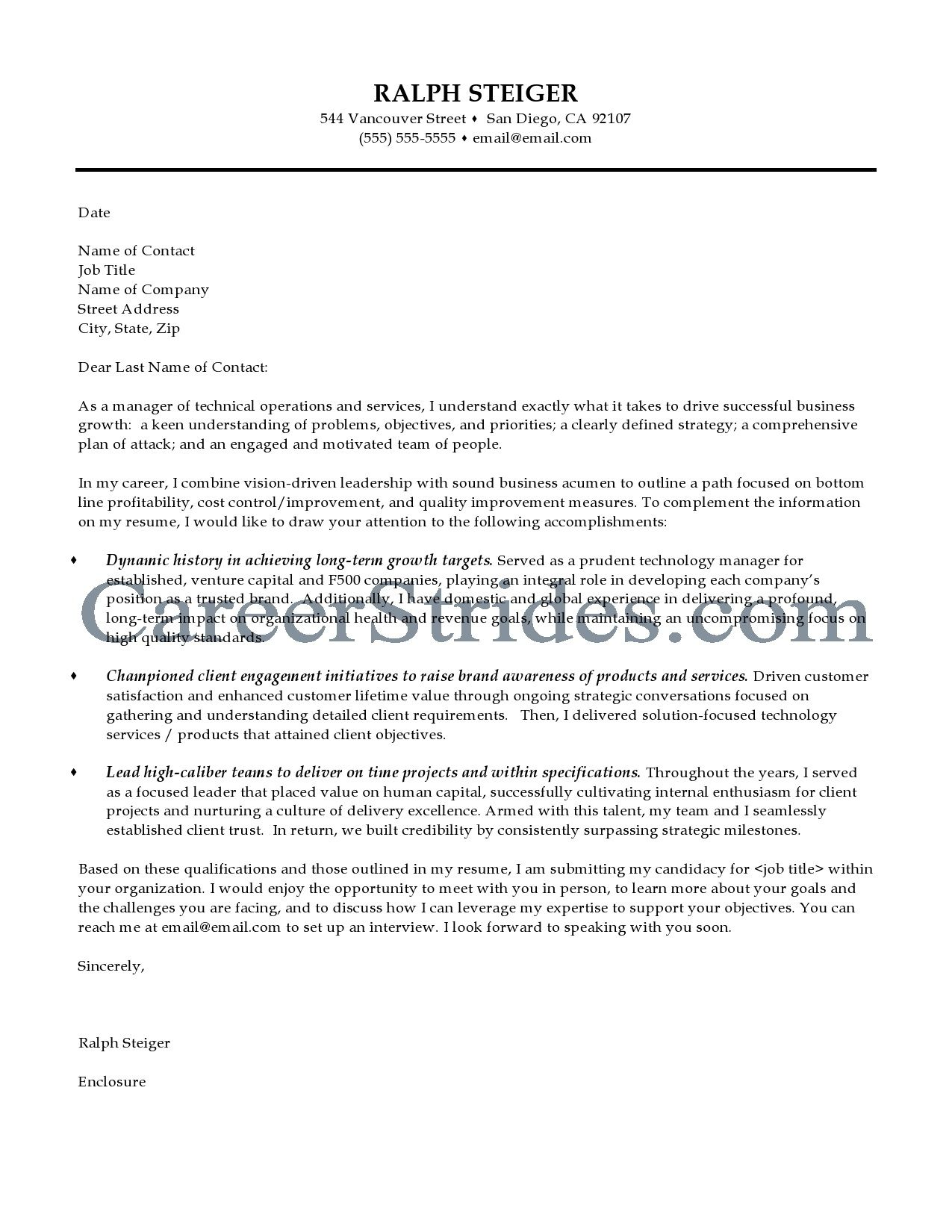 Cover Letters Marketing Manager Letter Sample Great Examples For