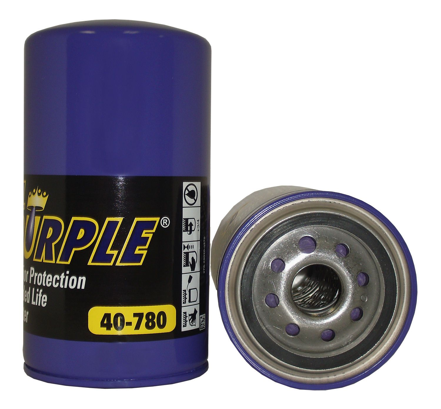 Royal Purple Oil Filters Have 100 Synthetic Micro Glass Media A High Performance Silicone Anti Drain Back Valve Extra Heavy D Powerstroke Oil Filter Duramax