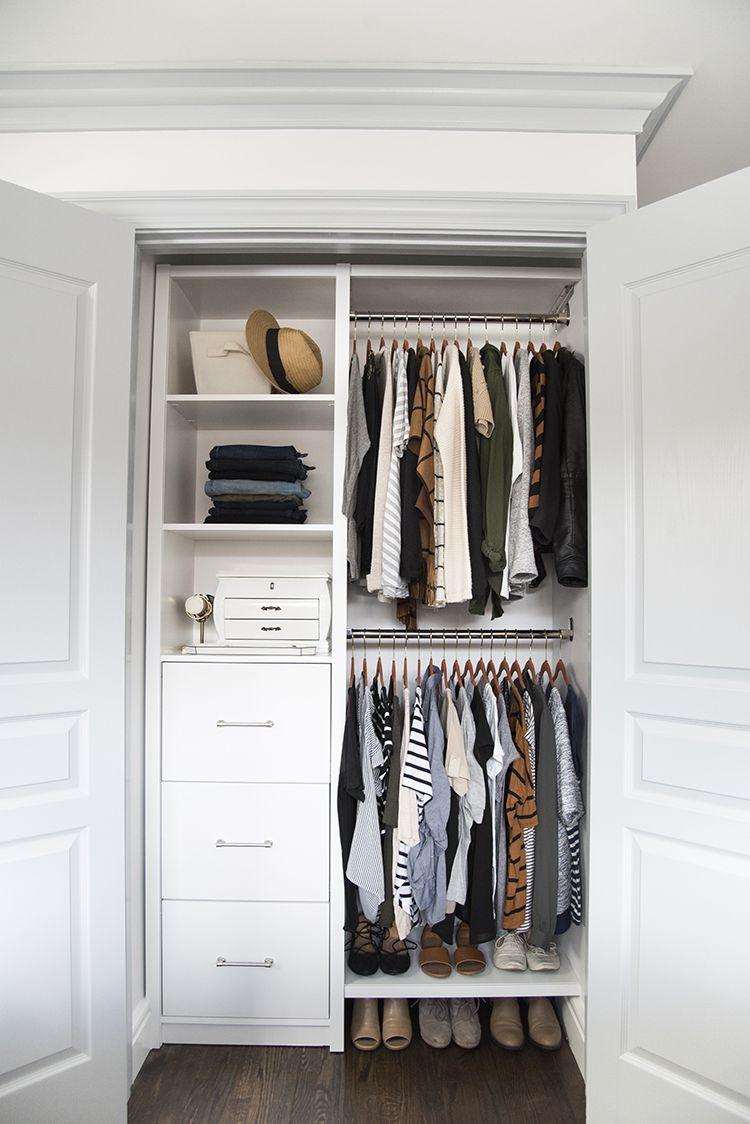 My Master Closet Reveal Room For Tuesday Blog Closet Small Bedroom Closet Bedroom Bedroom Organization Closet