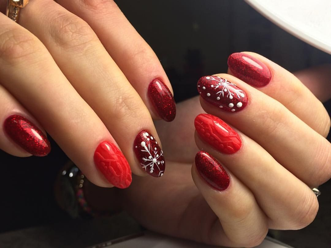 Nail Art #3774 - Best Nail Art Designs Gallery | Snow nails, Nail ...