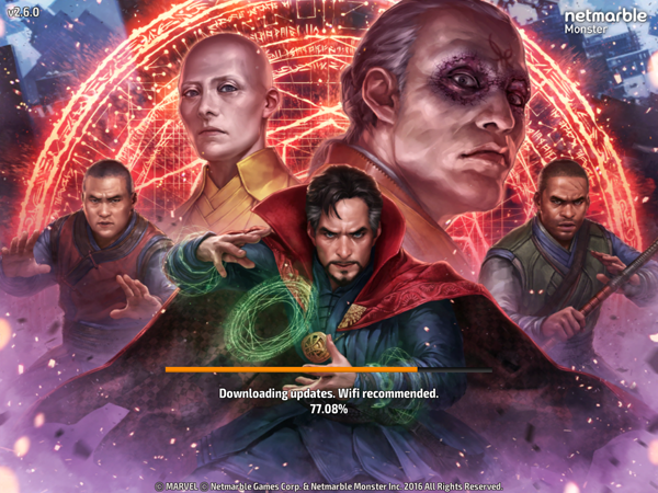 Dr.Strange at Marvel Future Fight