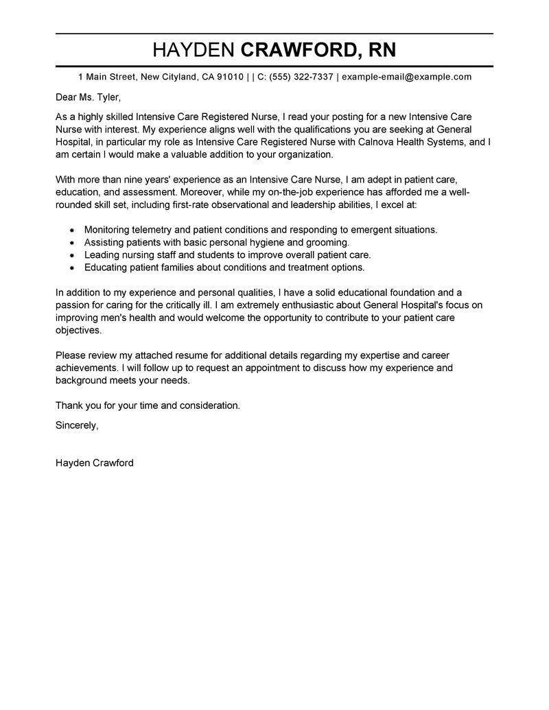 30 Nursing Cover Letter Cover Letter For Resume Job Cover Letter Teaching Cover Letter