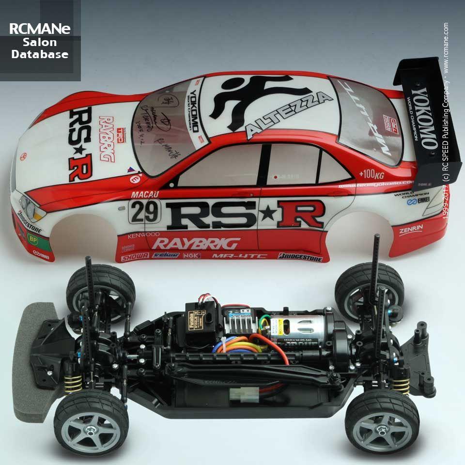 Tamiya 1 10 Tt02 Honda Acura Nsx W Esc Motor Ep 4wd Rc Cars Touring