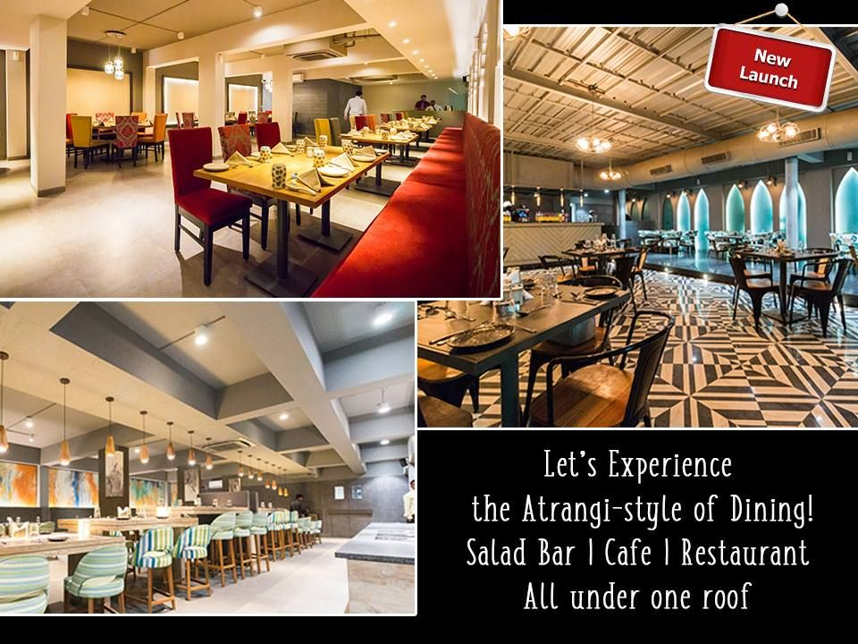 Lets Experience The Atrangi Style Of Dining Address 01gf Anoli