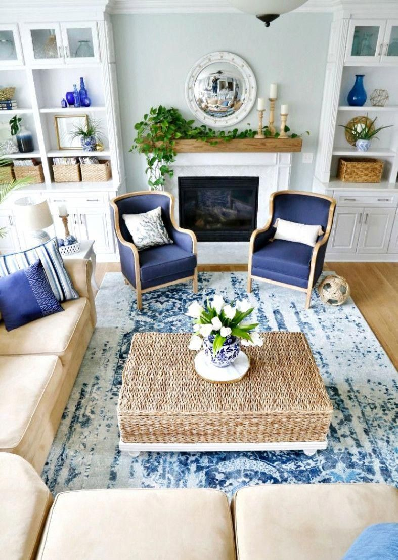 gorgeous coastal living room decorating ideas home decoration decoratingideas gorgeouscoastallivingroom also rh pinterest