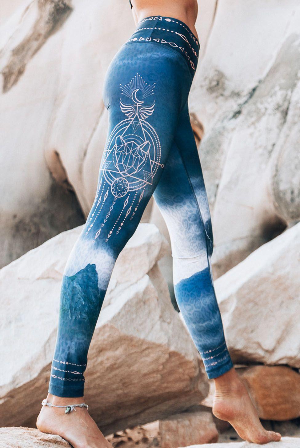 NEW* Eco Leggings Pachamama Print in 2020 Leggings, Yoga