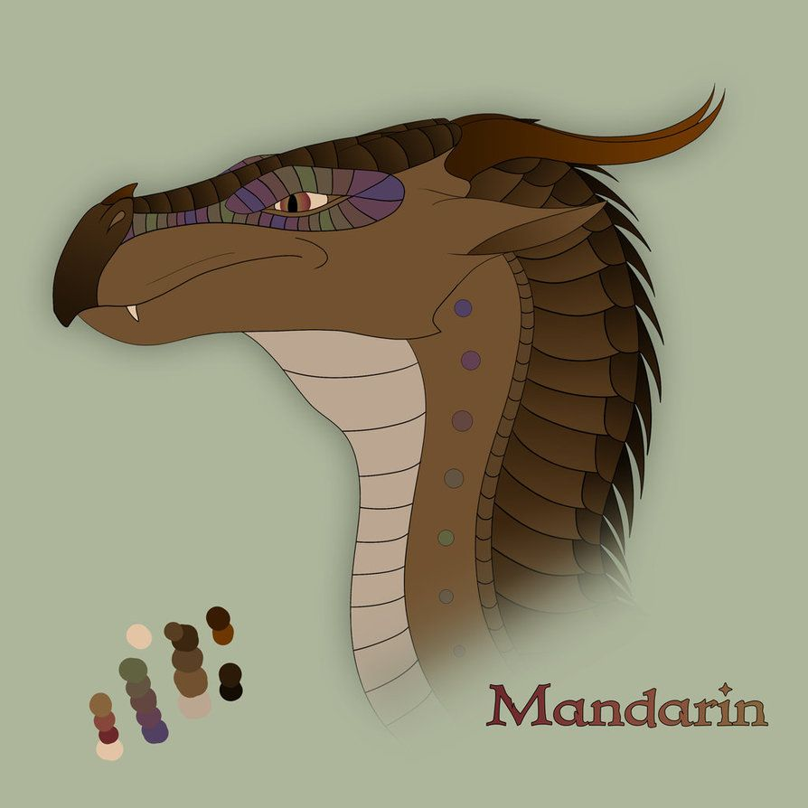 Mandarin-RainWing/MudWing hybrid/Male/Serious/Can sometimes