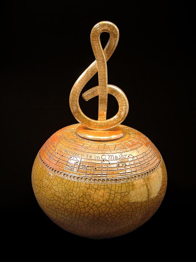 Andante In C Major By Jerry Rhodes Music C Major Ceramic Art Pottery