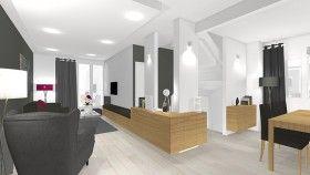 La Maison France 5 - Exploiter un pilier dans un séjour et créer ...