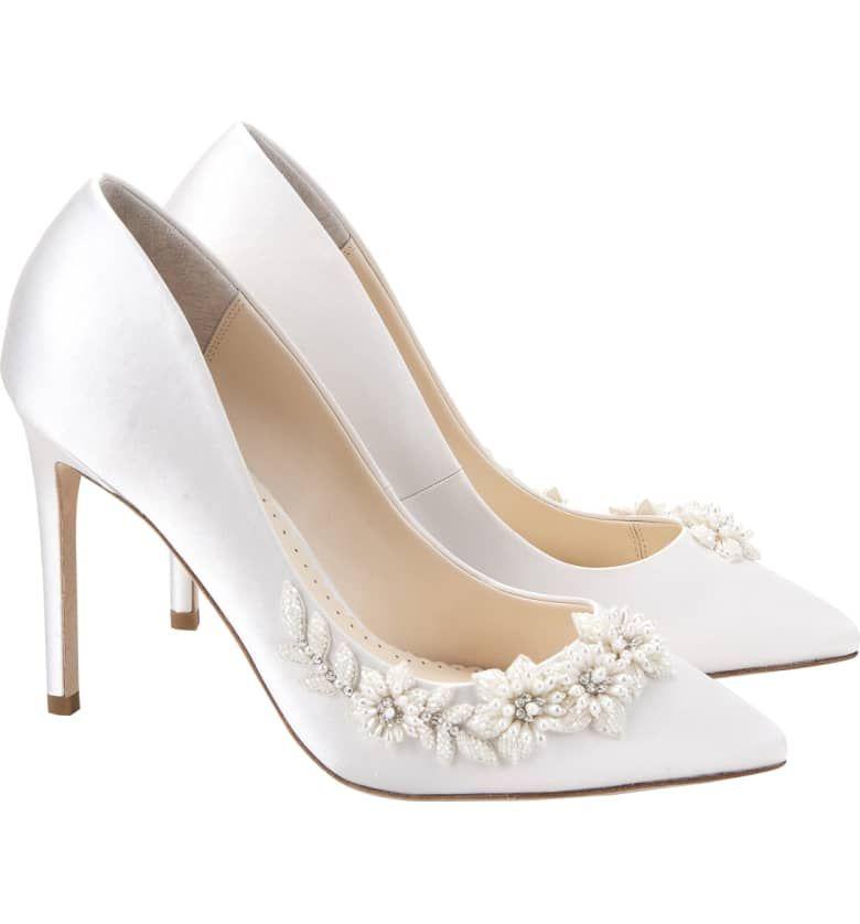 Bella Belle Jasmine Embellished Silk Pump Women Nordstrom Pumps Women S Pumps Wedding Shoes