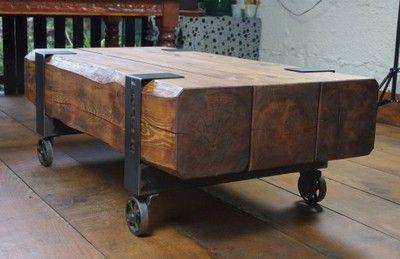 Def Loft Stol Industrialny Z Belek Belki Kolka 6681747762 Oficjalne Archiwum Allegro Coffee Table Home Decor Furniture