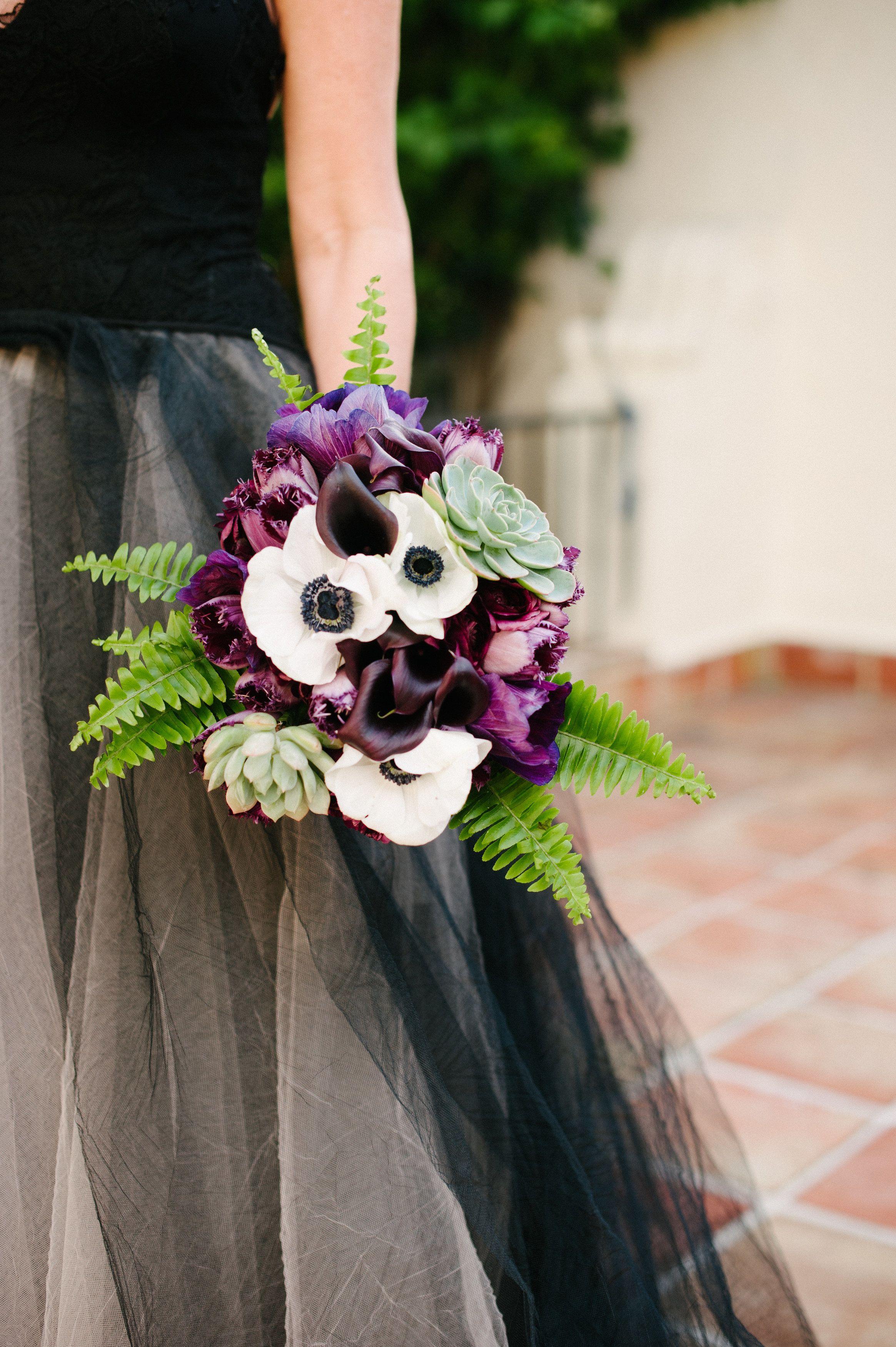 Eclectic Garden Wedding At Villa Woodbine Wedding Bouquets