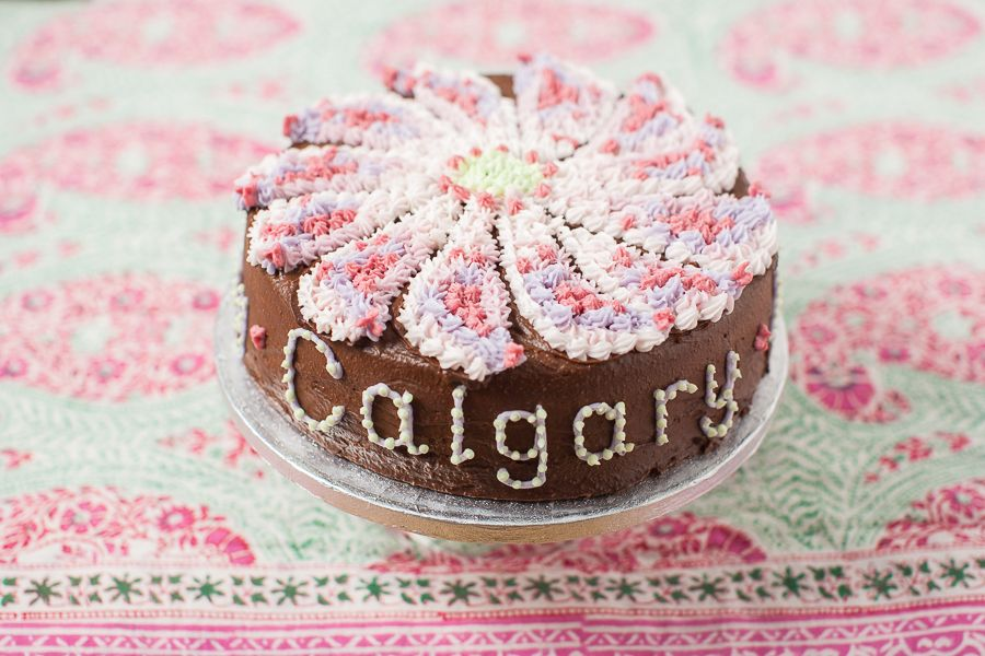Happy Birthday Calgary Marriage Biscuits And Cake Wedding