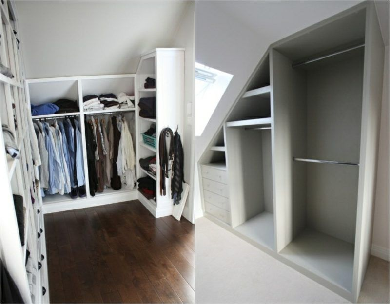 Walkin wardrobe under sloping roof ideas and planning