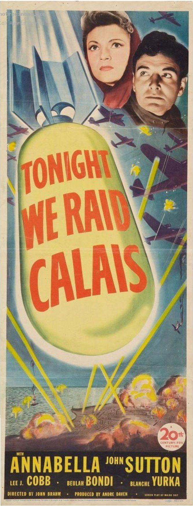 Download Tonight We Raid Calais Full-Movie Free