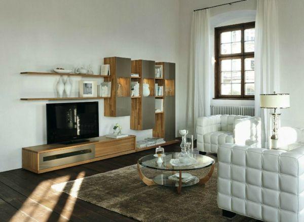 Le meuble suspendu de salon décore et modernise le salon House