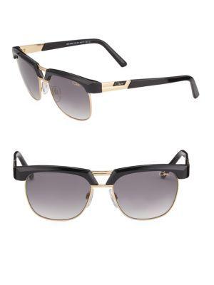 58fb5f22915 CAZAL Half-Rim Aviator Sunglasses.  cazal