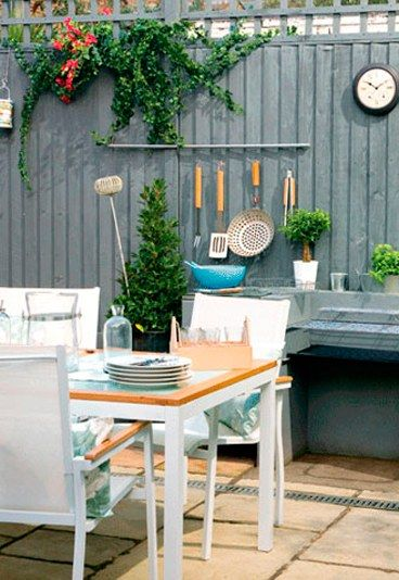13 ideas para darle vida a tu patio interior pinterest for Decoracion de patios