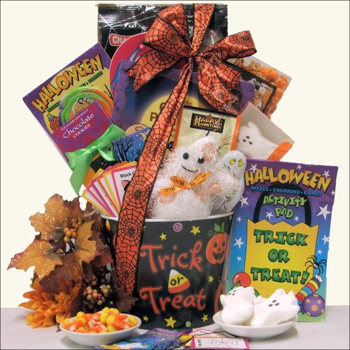 Spooky Sweets Treats Halloween Gift Basket For Kids Ages 3 To 8