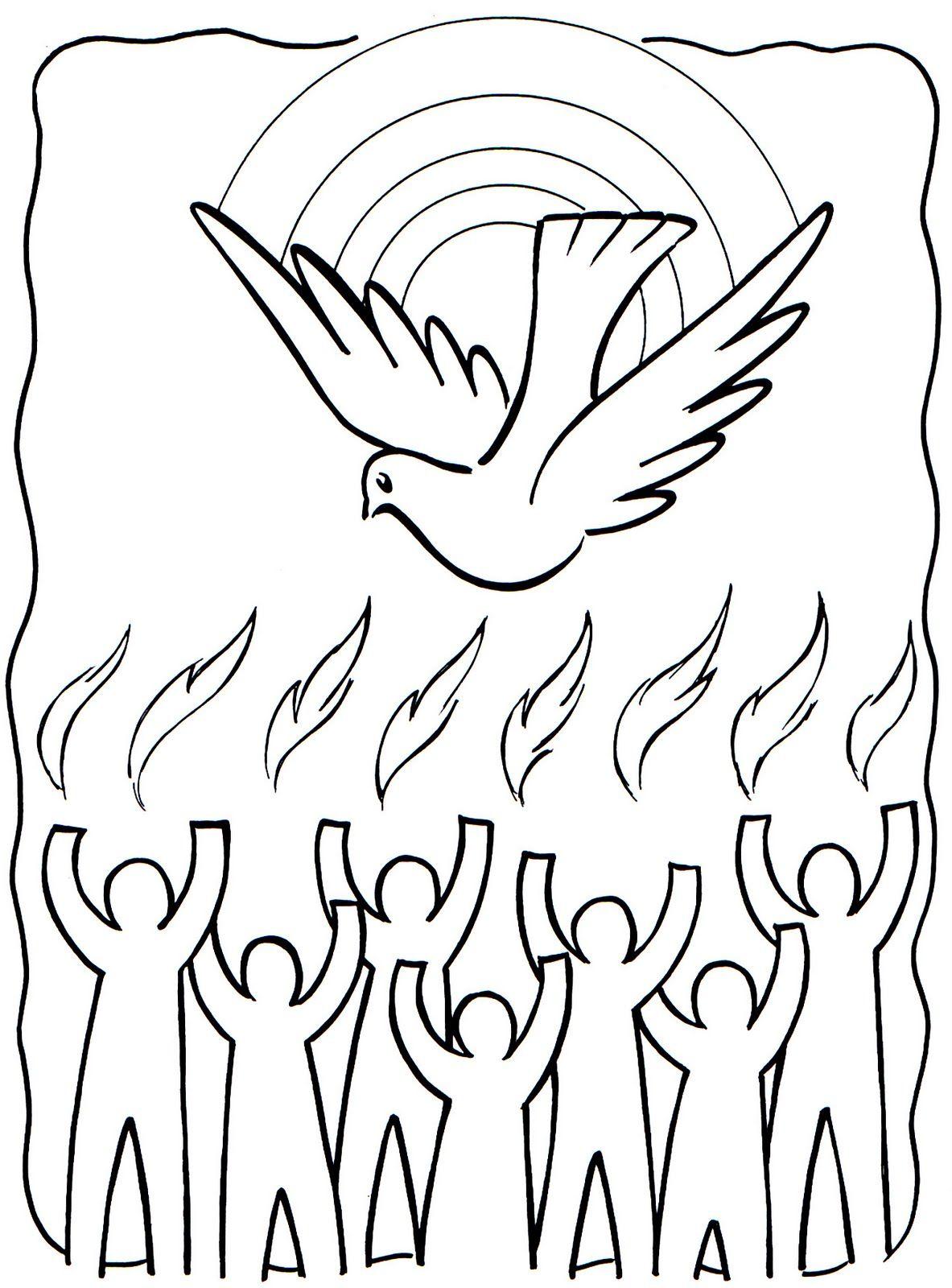 Epingle Par Kt42 Catechisme Sur Pentecote Et Ascension