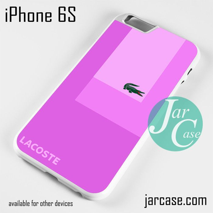 Lacoste Pink Style Phone case for iPhone 6/6S/6 Plus/6S plus
