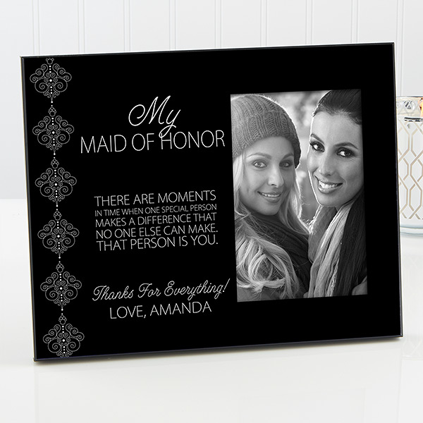 Personalized Bridesmaids Picture Frames Wedding Party Bridesmaid Picture Frame Bridesmaids Personalized Wedding Picture Frames