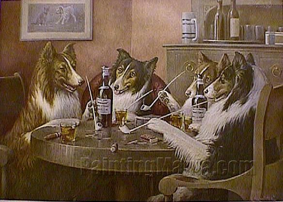 174a250299e The Reunion - Cassius Marcellus Coolidge Paintings. The Reunion - Cassius  Marcellus Coolidge Paintings Dogs Playing Poker ...