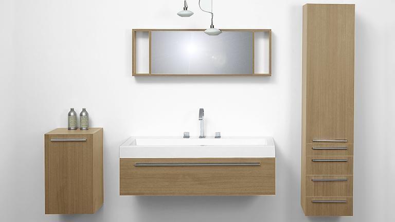 Ensemble de salle de bain 1 vasque design 125 cm Elettra ...