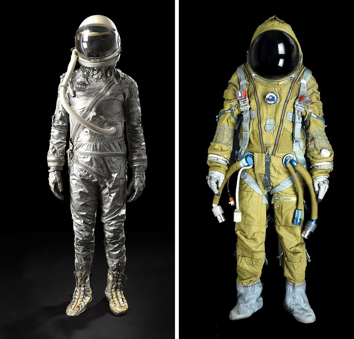 US glam or Soviet grunge Vintage spacesuits on sale