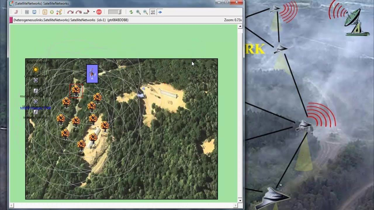 WIRELESS SENSOR NETWORK SIMULATION USING OMNET++ projects