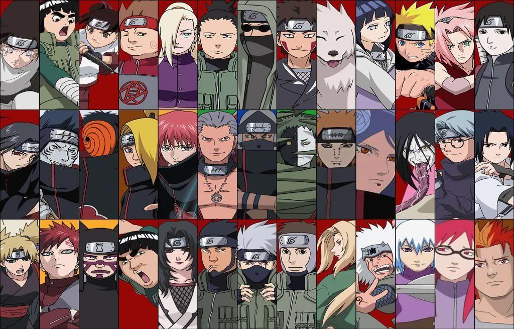 Naruto Shippuden All Characters Google Search Naruto Shippuden