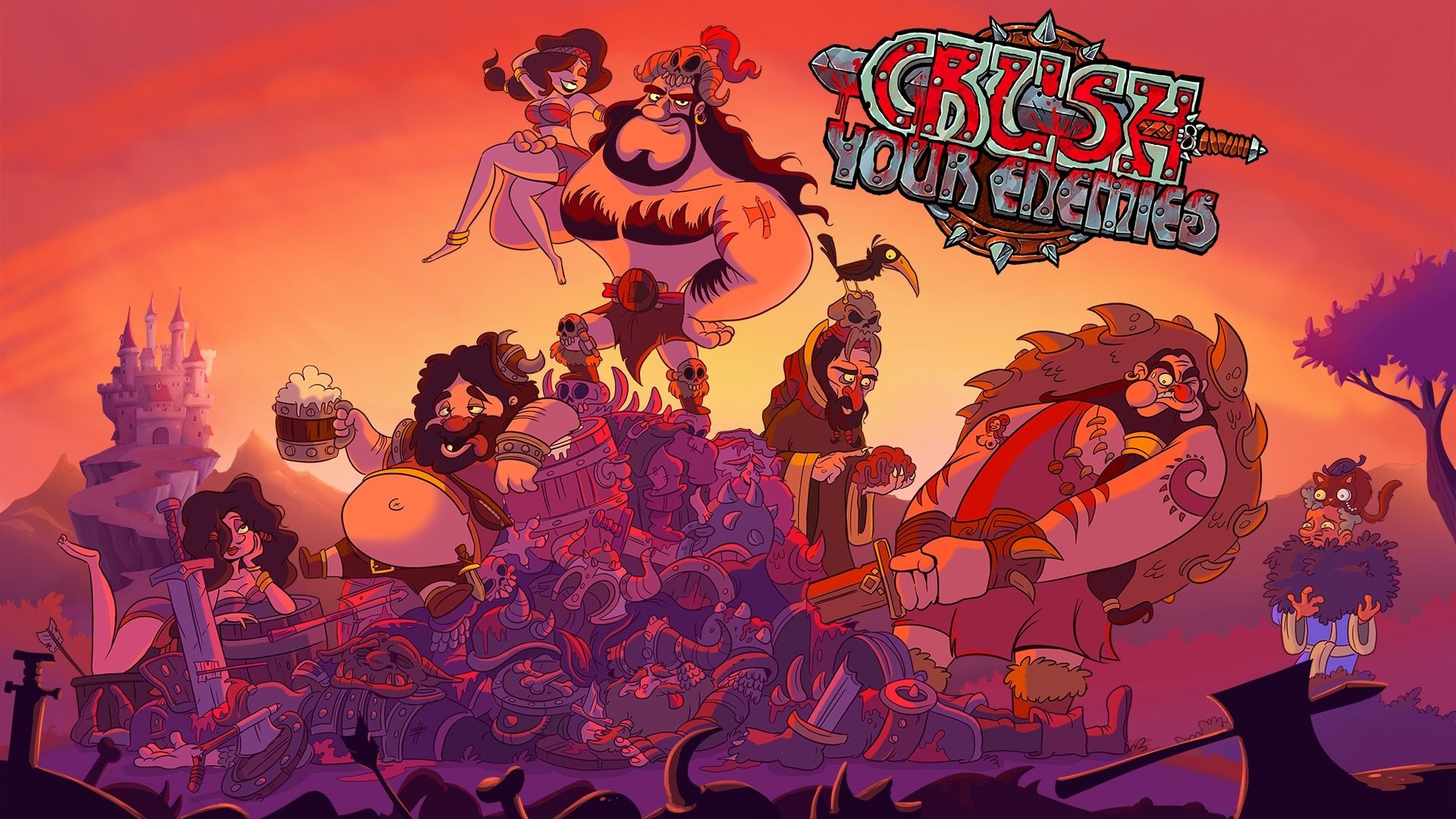 Crush Your Enemies Review - Strategy Simplified - http://techraptor.net/content/crush-enemies-review-strategy-simplified   Gaming, Reviews