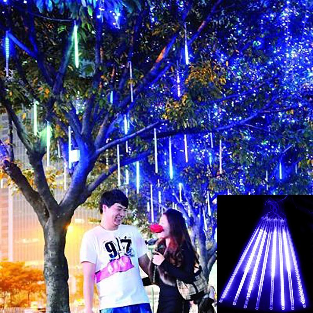 Buy Now For Xmas 30cm Meteor Shower Rain Tubes Christmas Lights Led Lamp 100 240v Outd Holiday Lights Outdoor Xmas Tree Lights Outdoor Tree Lighting