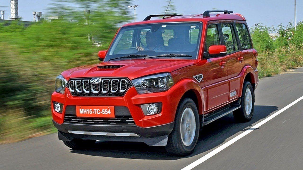 2018 Mahindra Scorpio facelift Interior Exterior | 2018 ...