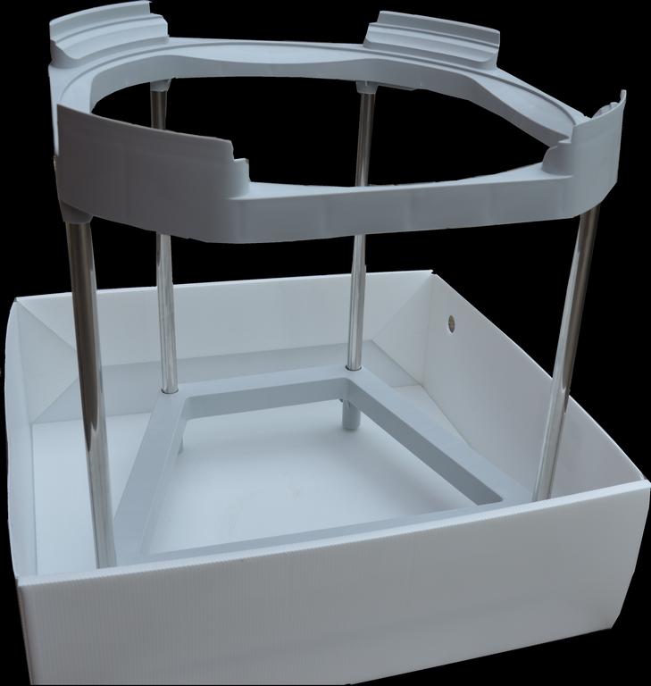 bac anti fuite pour chauffe eau sur tr pied securito stb. Black Bedroom Furniture Sets. Home Design Ideas