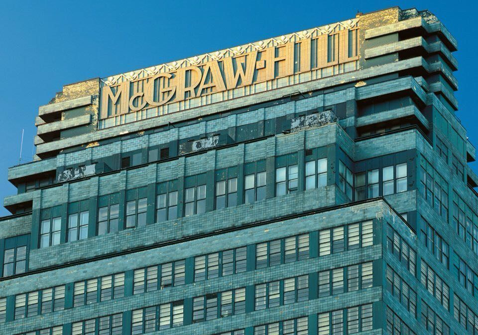 Charming The McGraw Hill Building 330 West 42nd St 1931 As Caught By Reinhart Wolf Photo