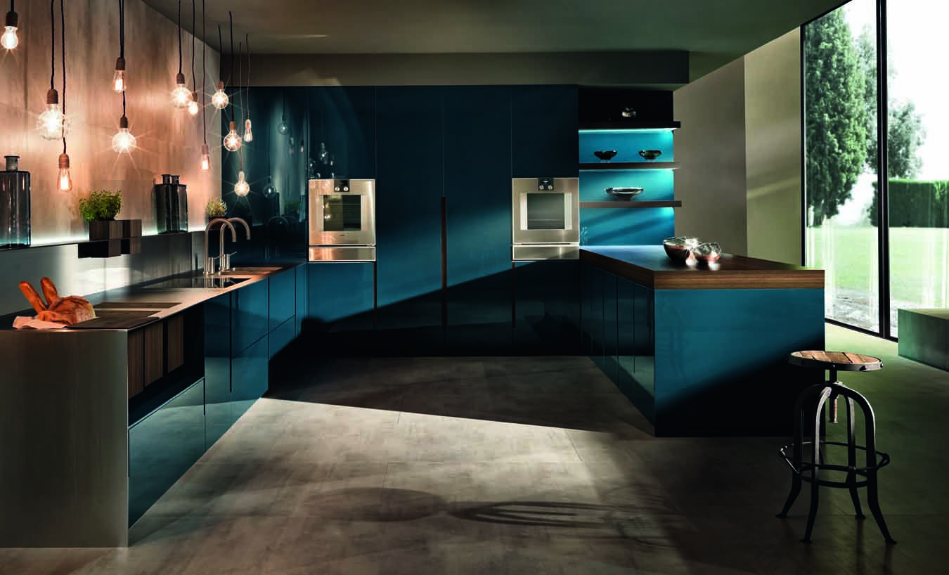 Superb Flowing Open Interiors From Euromobil | Kitchen Living, Kitchens And  Kitchen Design