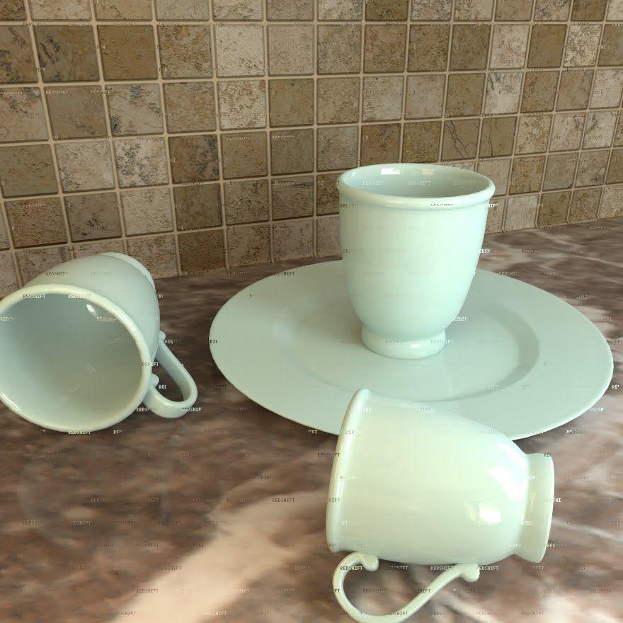 Maya 3D - RedShift Renderer - Porcelain Material (PL) | Maya