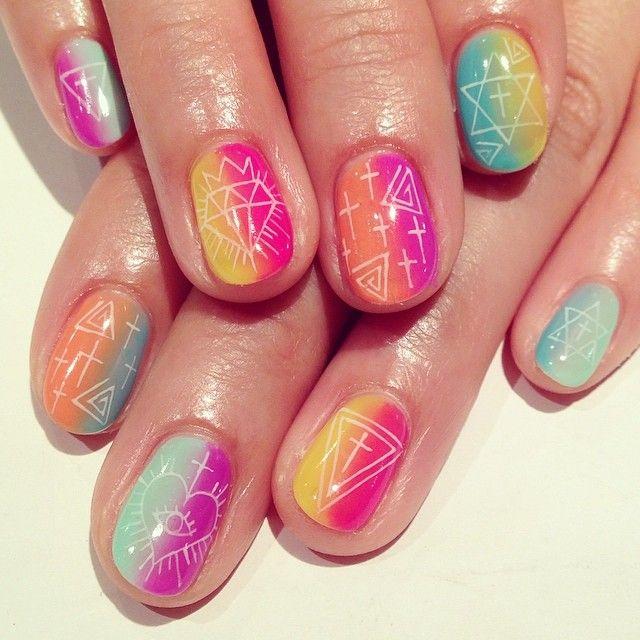 lekker kleurig !!